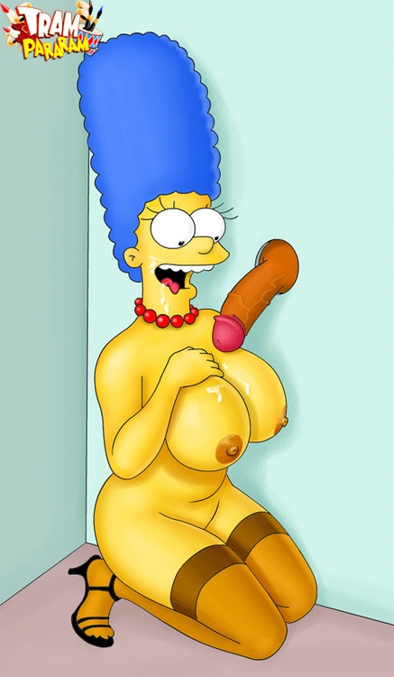 Sex surprise for Marge : Marge Simpson Tram Pararam Toons